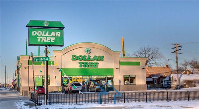 底特律Dollar Tree美元树一美元商店,剩余9.5年NN租约,年收入10.7万美元,周边商业密集