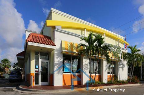 弗罗里达州西棕榈滩 麦当劳连锁餐厅 剩余14年NNN租约 年收入8.8万美元 可见度高 周边商业繁华