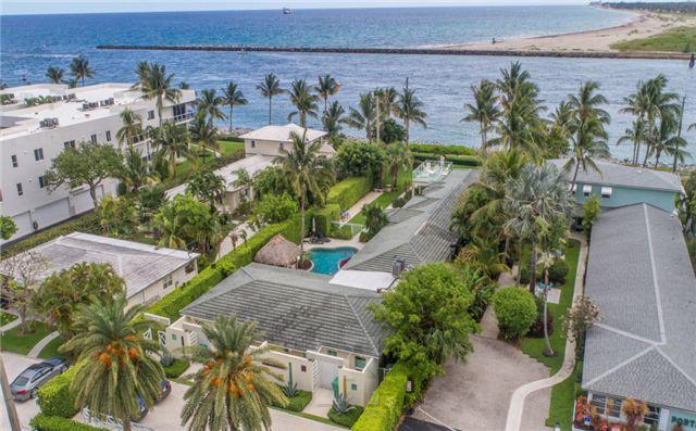佛州棕榈滩Palm Beach Shores25单元出租公寓,年收入76.8万美元,再次开发价值大