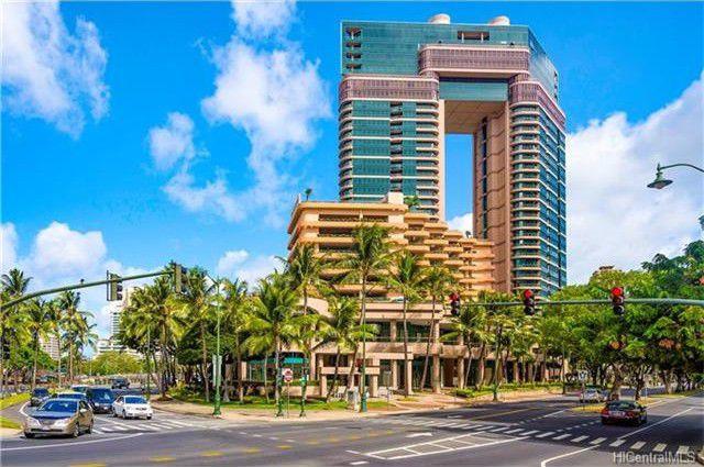 火奴鲁鲁Honolulu 威基基社区Waikiki 精致公寓 2卧2卫 自带烧烤 自带阁楼 城市美景、码头/运河景观、山区