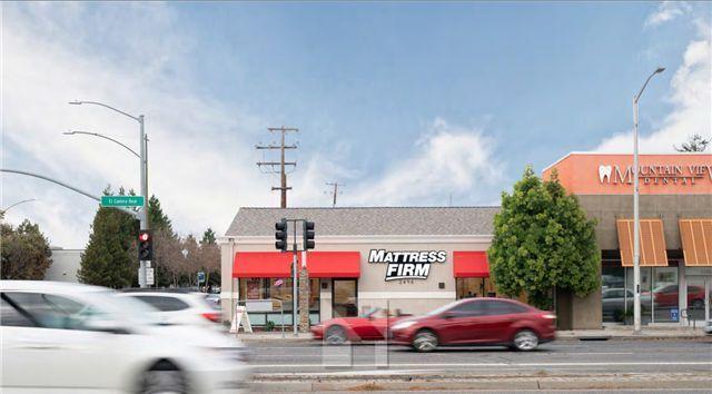 旧金山湾区Mountain View  Mattress Firm床垫公司,剩余15年NNN租约,回报率4.50%,高质量租户