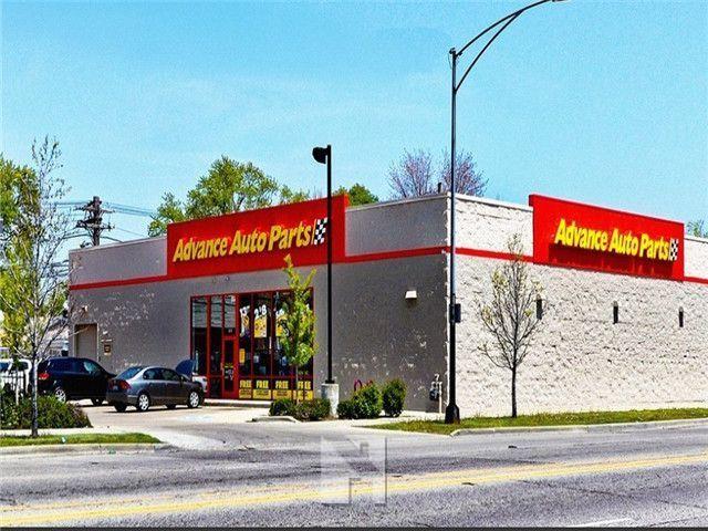 芝加哥 Advance Auto Parts汽配店 剩余9年NNN租约 年收入14万美元 著名租户
