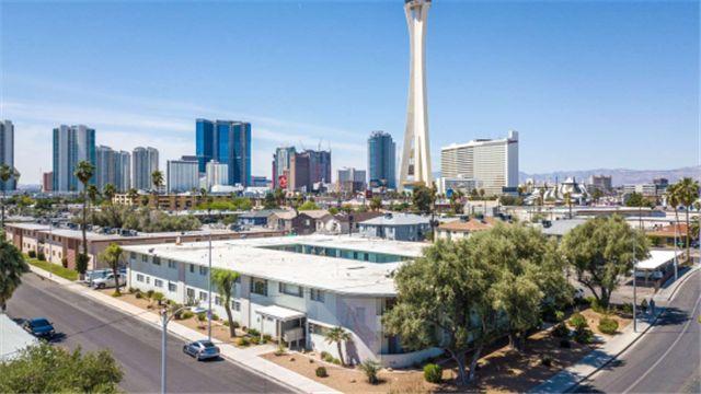 拉斯维加斯Las Vegas,出租公寓,回报率6.5%,中心地带,配套设施好,投资选择